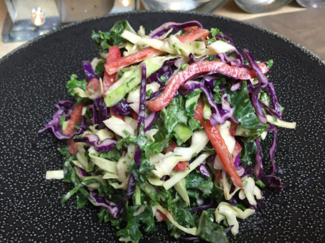 Kale and Cabbage Coleslaw Recipe
