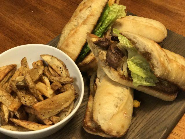 Steak Sandwich Recipe Blackened Filet Mignon