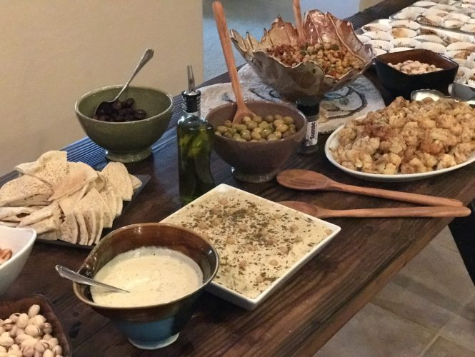 Middle Eastern Dinner Party Menu Ideas Recipes