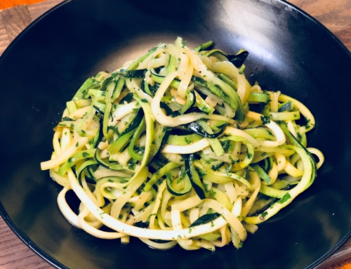 Zucchini Noodles Recipe Easy Vegetable Recipes